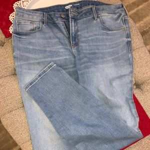 Old navy pop icon skinny jeans